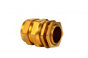 CW BRASS Cable Gland 3 Part